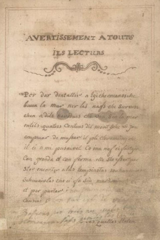 Il manuscrit da Gion Casper Collenberg (1733 – 1792)