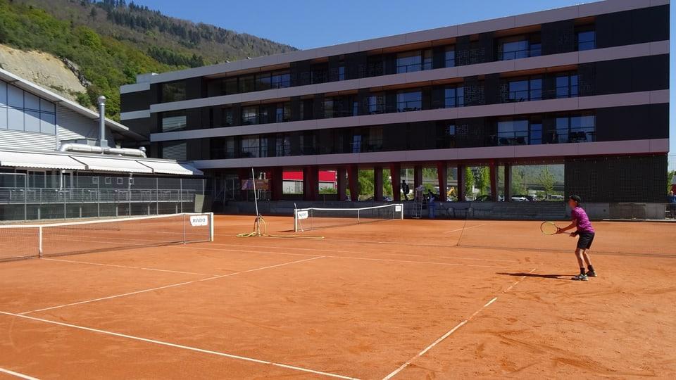 Il center naziunal da Swiss Tennis a Bienna.