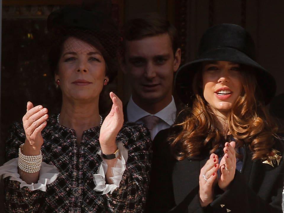Caroline von Monaco und Charlotte Casiraghi