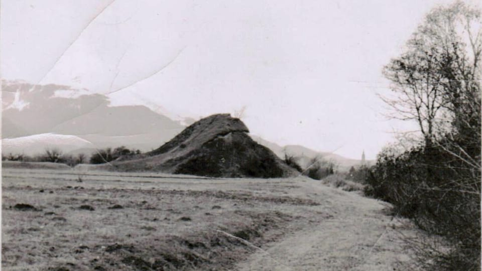 La tuma Semanle tranter Domat e Favugn na datti betg pli. Ella era enta pe a la nova via naziunala, bajegiada dal 1961 – 63.