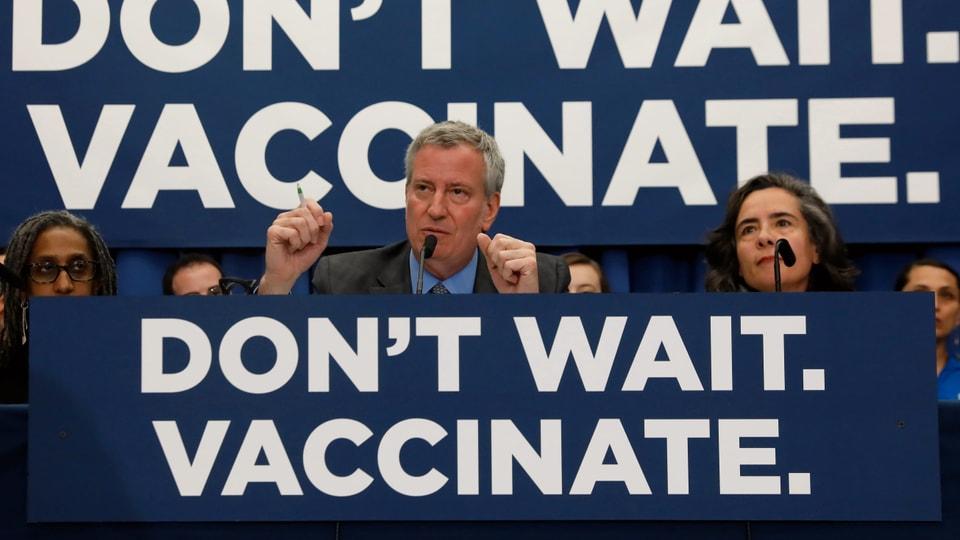 Impfpflicht in Brooklyn – New York verhängt den Masern-Notstand