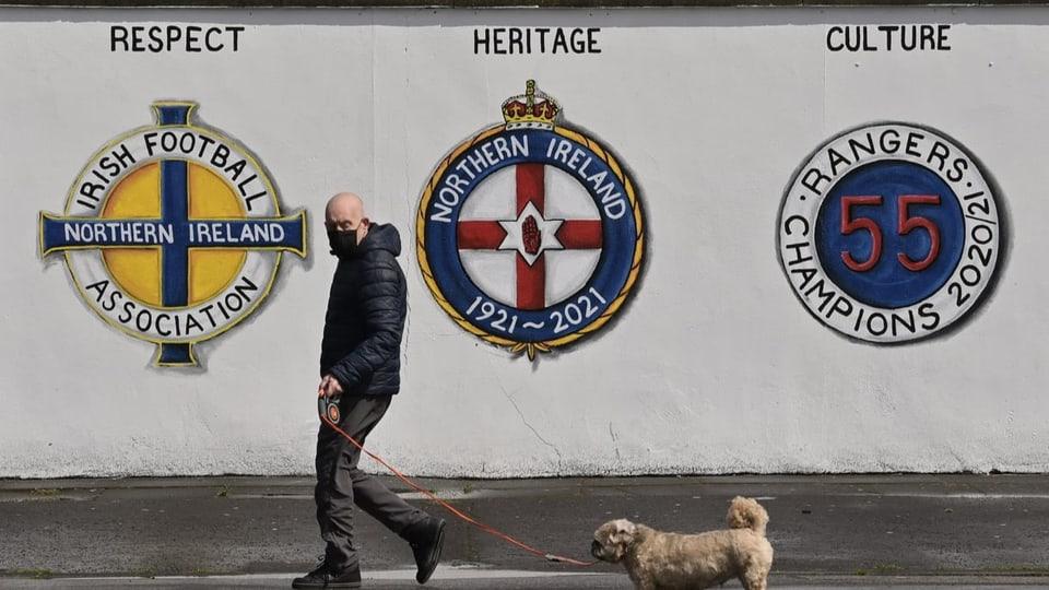 Fussball in Nordirland: Wenn sich der Hass ins Stadion schleicht