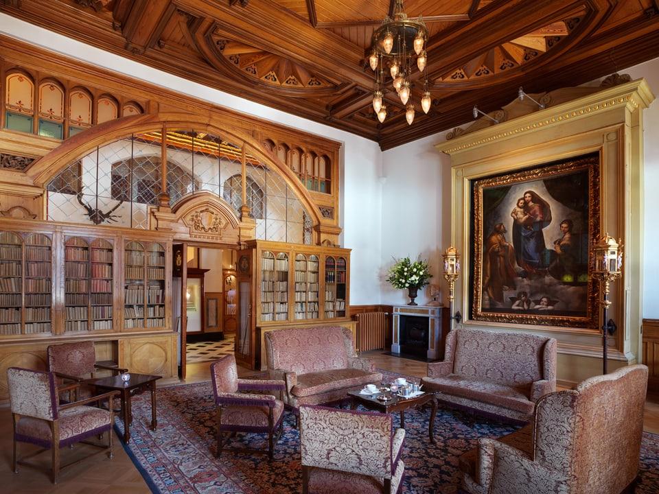 La «Madonna Sistina» en il Badrutt's Palace.