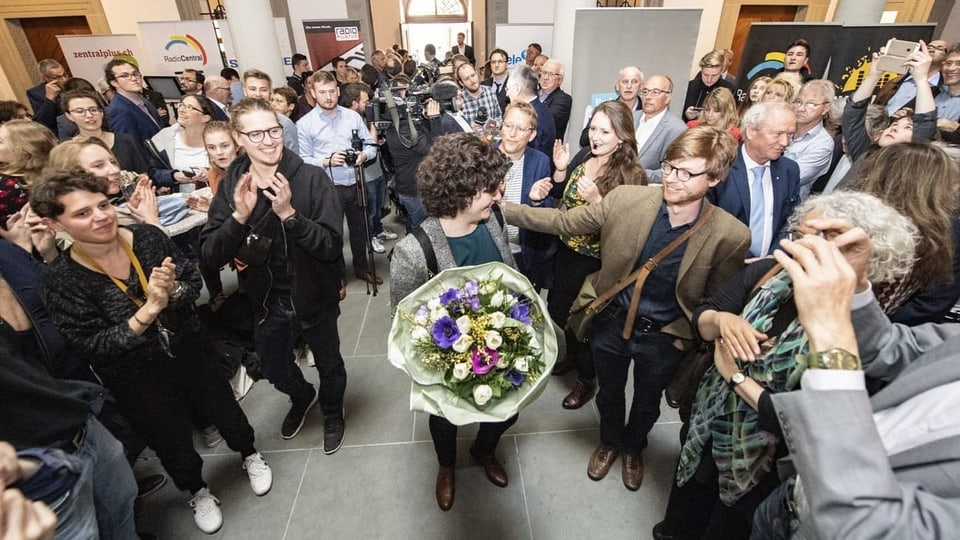 Wahlen 2019 – Grüne bleiben im Hoch, SVP im freien Fall