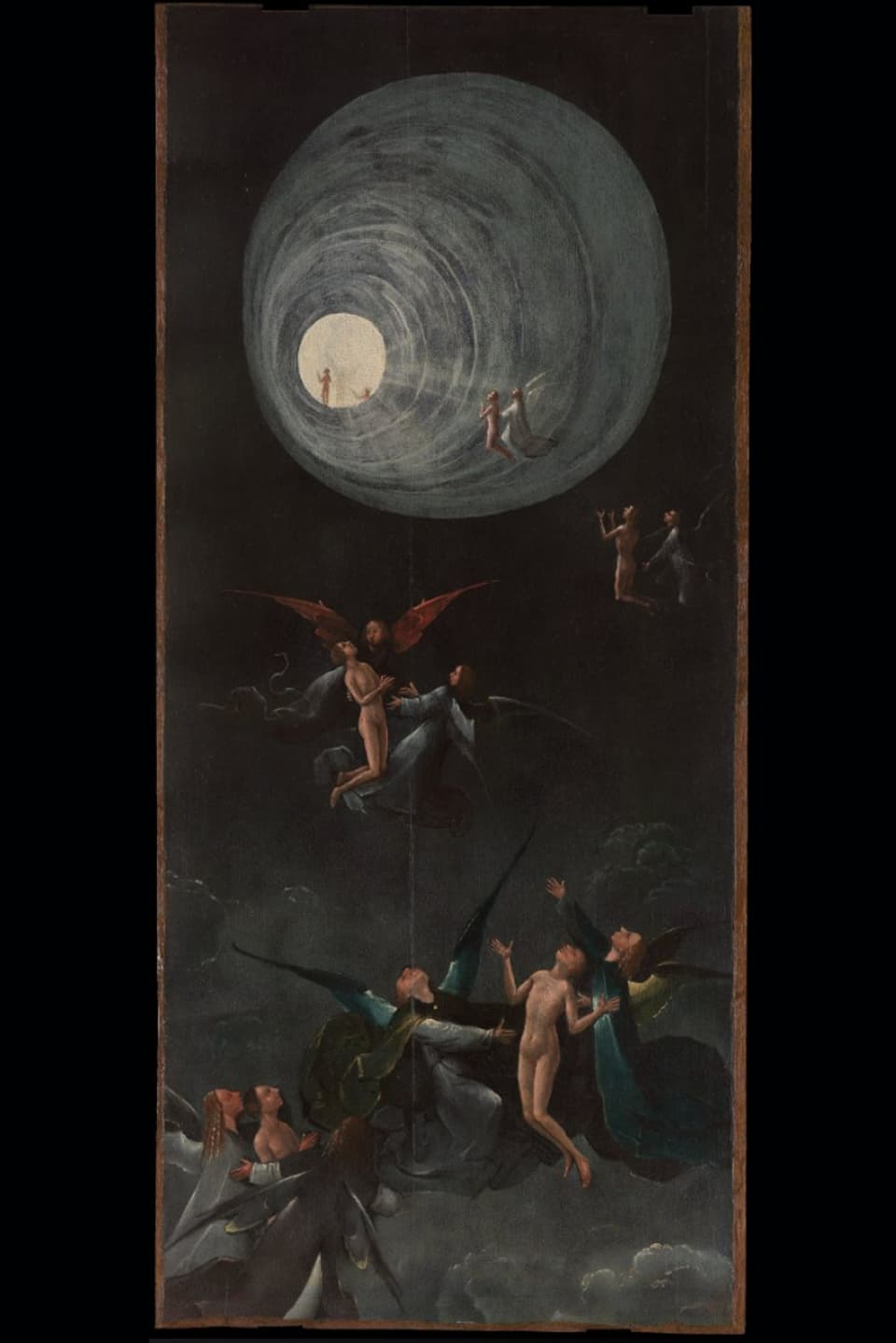 Part da «Visionen aus dem Jenseits» da Hieronymi Bosch.