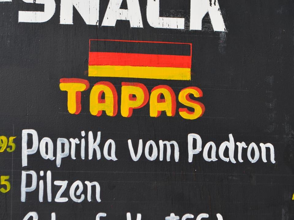 «Paprika vom Padron».