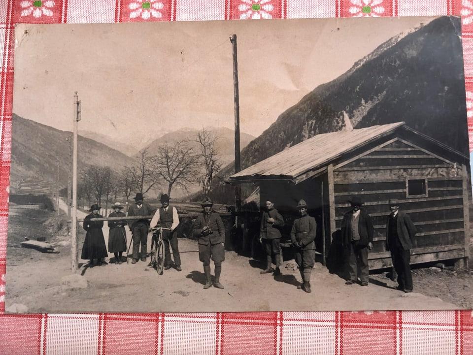 Cunfin Müstair – Tuer/Taufers zieva l'occuppaziun Italiana dal Tirol dal Sid.