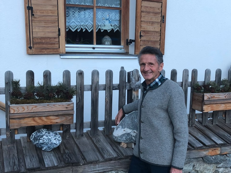 Paul Vidal, istoricher local ed abitant da Taufers.