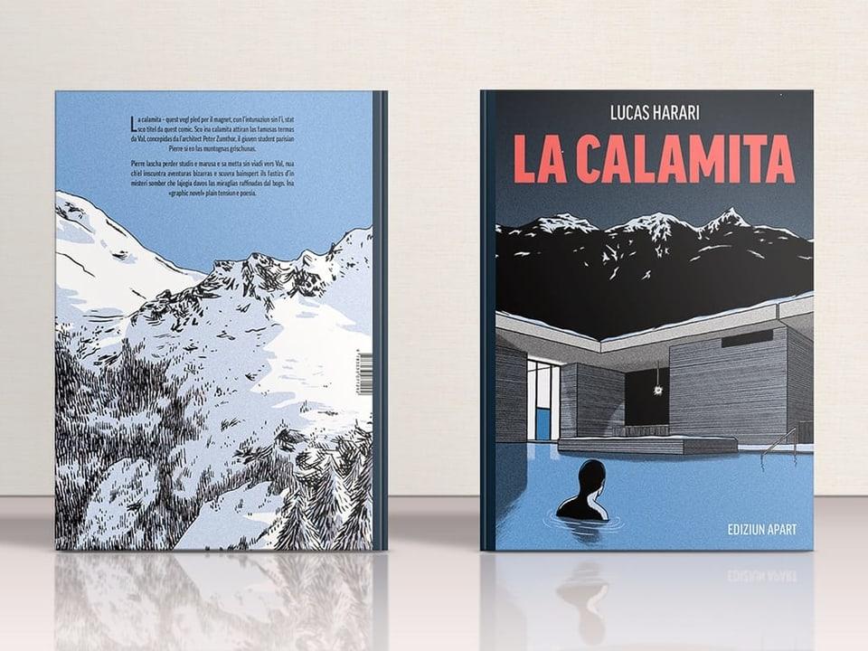 """Il cover da """"La calmamita""""."""