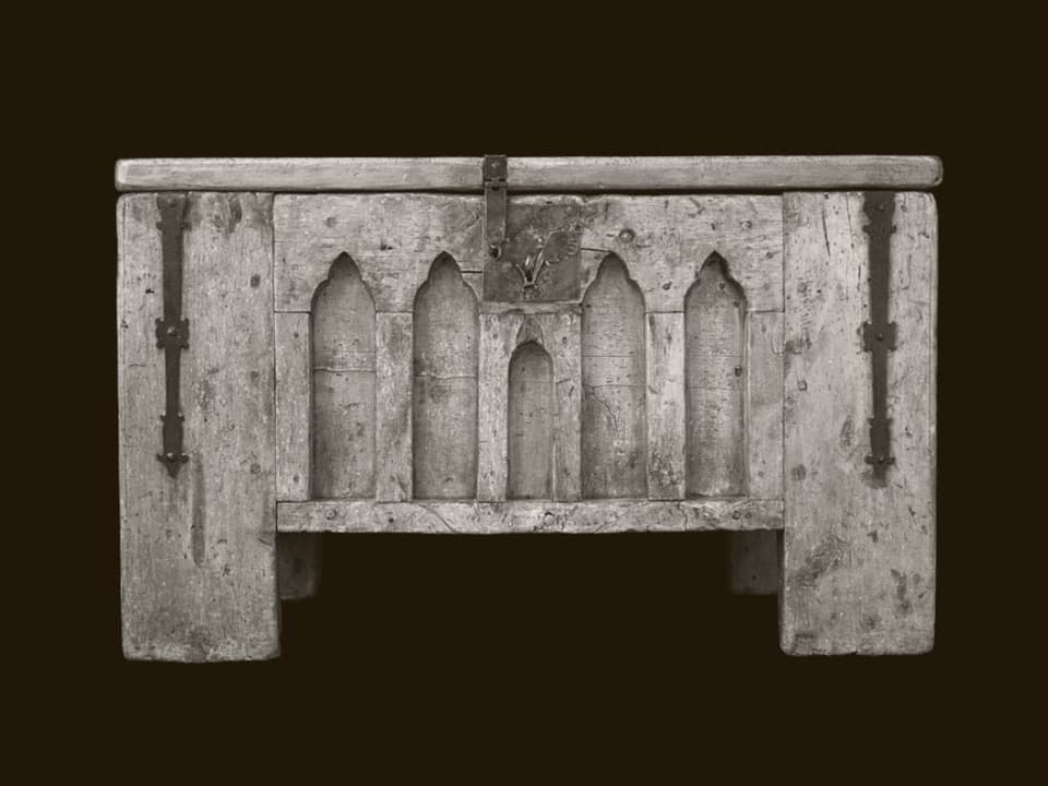 Trucca ord schember e pign, origin: Ardez (oz en il Museum retic a Cuira), 15/16avel tschientaner.