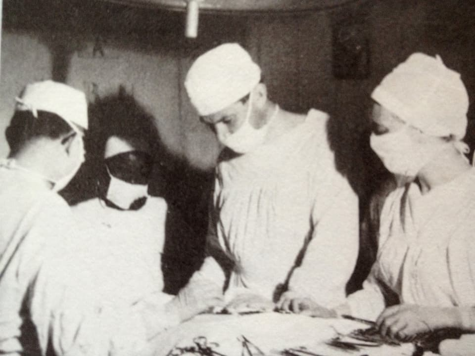 Walter Munz operiert.