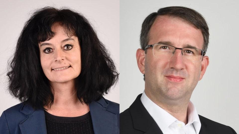 Karin Iten e Stefan Loppacher: