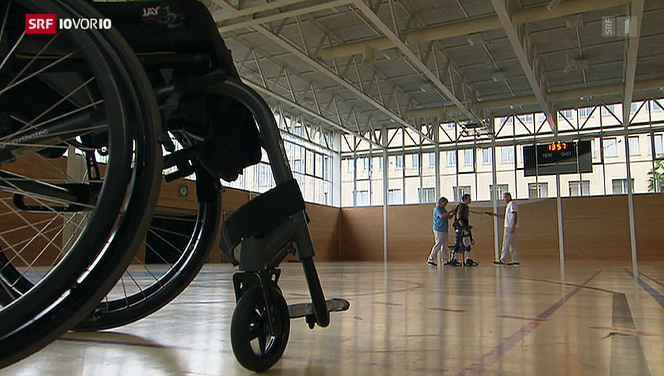 Exoskelett für Paraplegiker