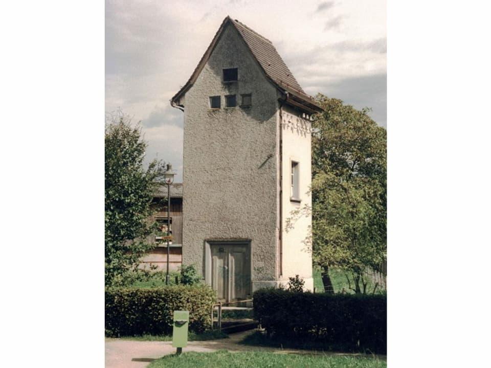 Ein Trafohaus in Möhlin (AG).