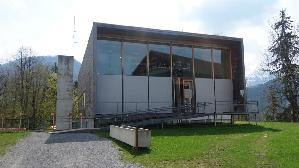 Il Frauenmuseum a Hittisau en in Bregenzerwald.