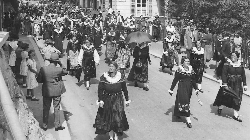 1930 – Festa chantunala da chant a Scuol.