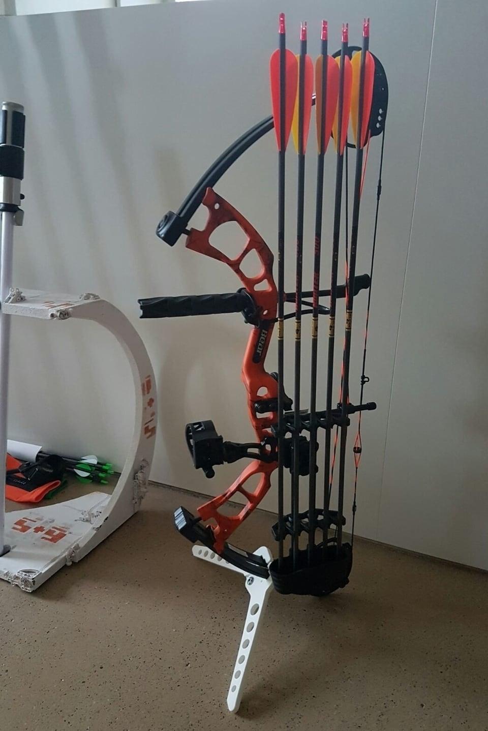 Bogenhalter aus dem 3D Drucker