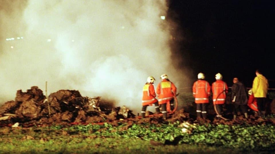 Flugzeugabsturz in Bassersdorf