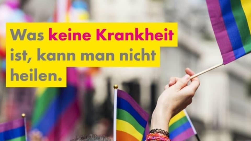 Forderung: Schweiz soll umstrittene Konversionstherapien verbieten