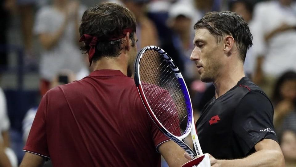 Revanche-Chance gegen Millman - Vorfreude statt Bammel bei Federer