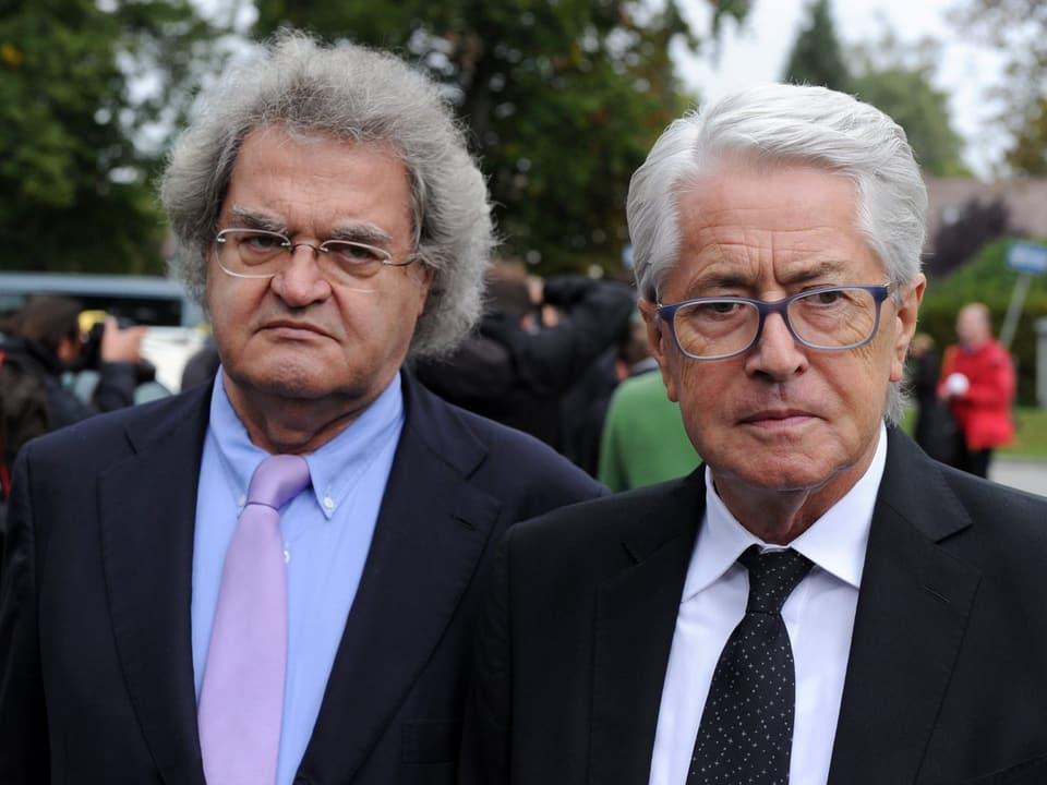 Helmut Markwort und Frank Elstner