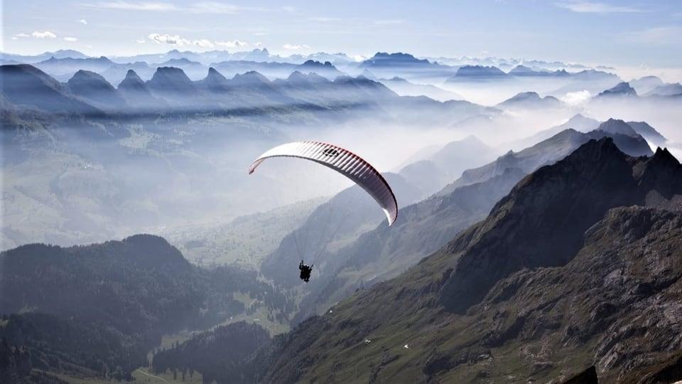 Eldorado für Gleitschirmflieger
