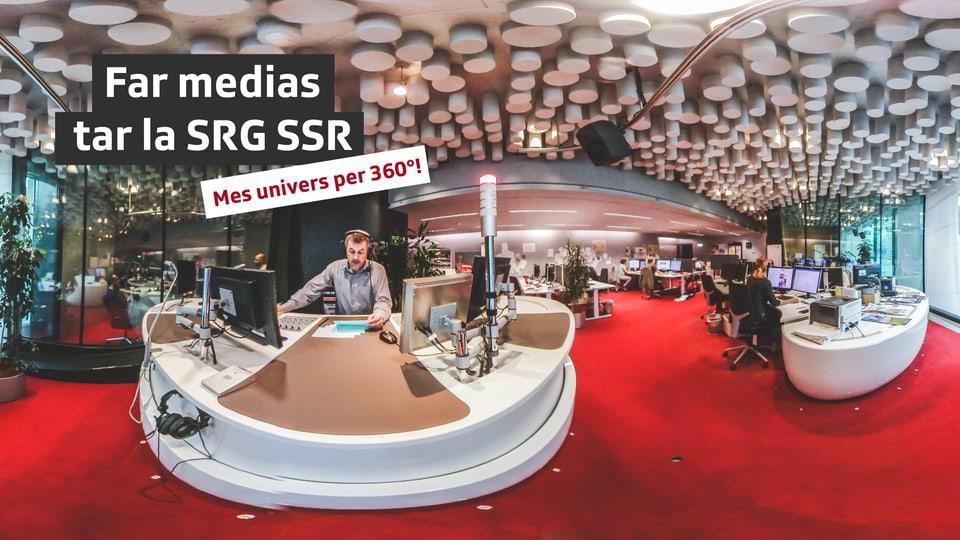 Lavurar tar RTR – Mes univers per 360°!