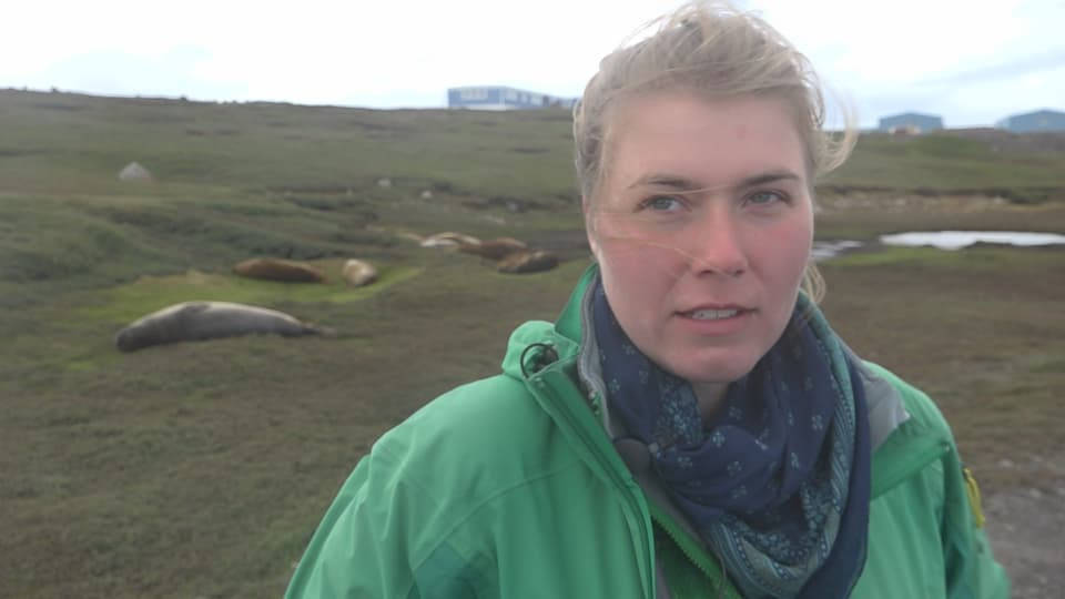 Biologin Suzanne Liagre, Kerguelen