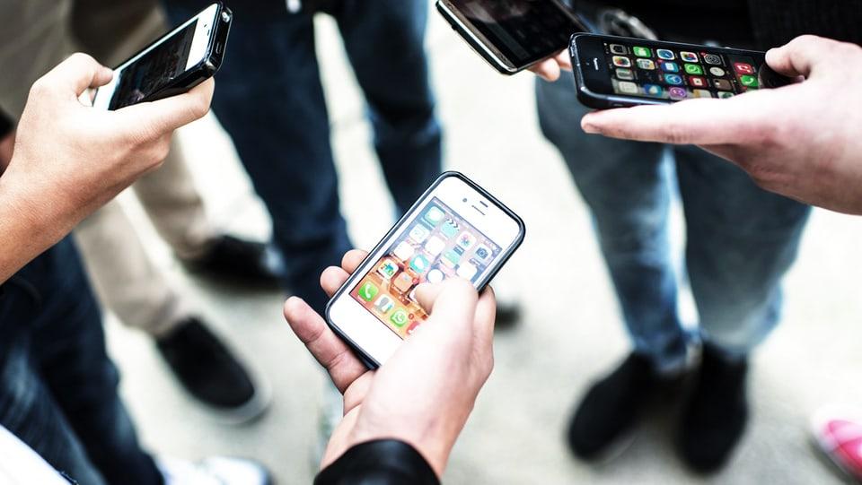 Smartphones sind keine Bakterienschleudern