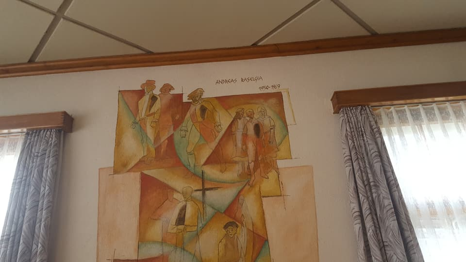 Reschissur dal 1950-1969, Andreas Baselgia, il tat dal ustier actual era cun num Andreas Baselgia.