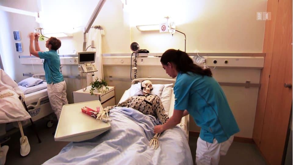 Patientensicherheit dank «Horrorzimmer»