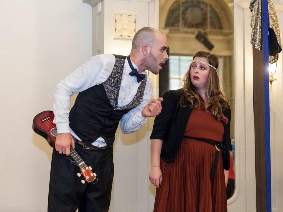 Dapi lur studi da teater èn els inseparabels – quai en la vita sco sin tribuna