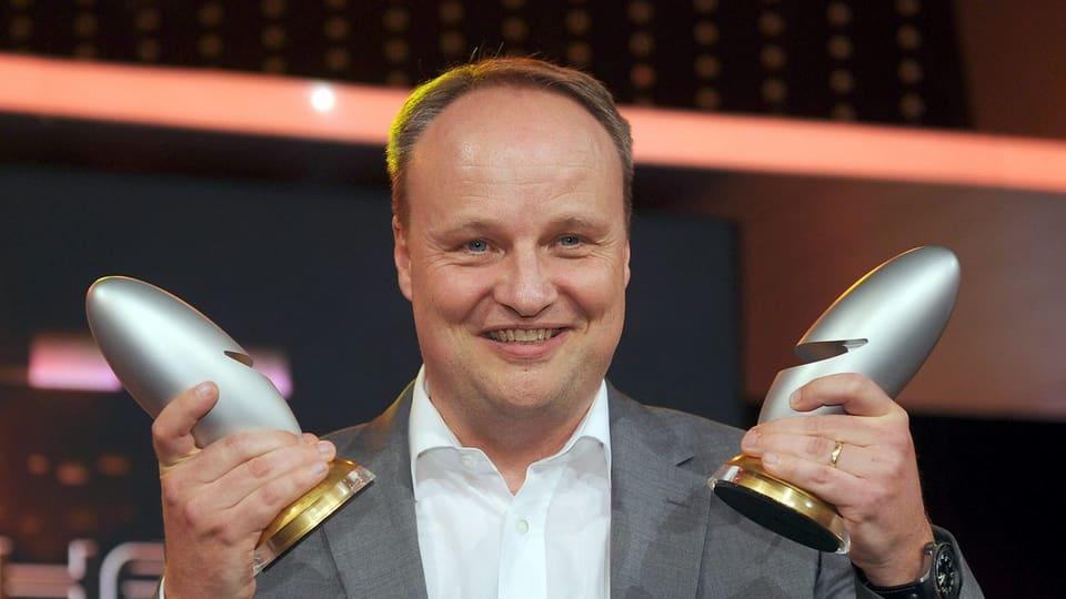 """Oliver Welke, Moderator ZDF Heute Show: «Von einer Satiresendung hat man nur was, wenn man davor """"echten"""" Journalismus konsumiert hat.»"""