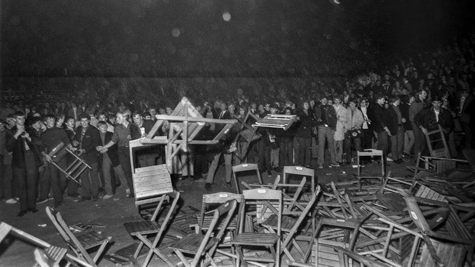 Il concert dals Rolling Stones il 1967 en il Hallenstadion è escalà.