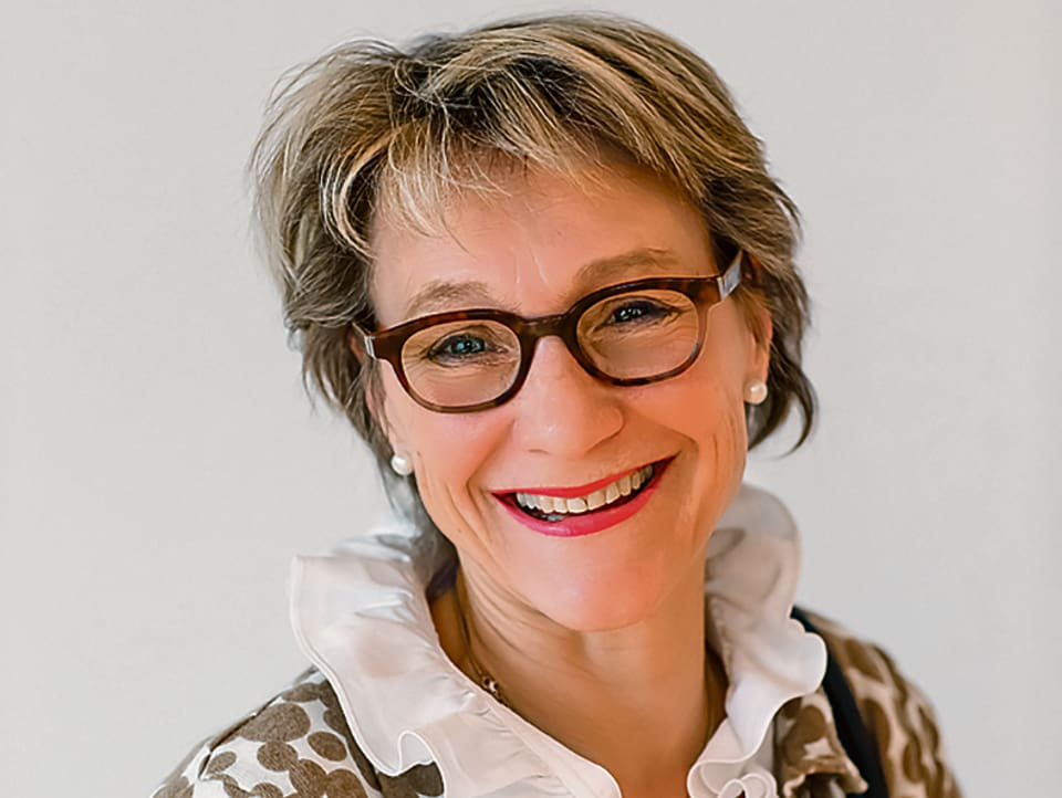 Porträtbild Claudia Eberle Fröhlich.