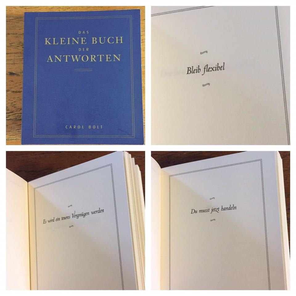 Das kleine Buch der Antworten liefert Antworten auf alle Lebenslagen