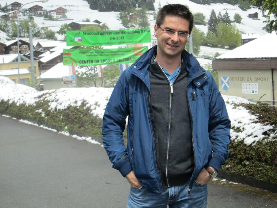 Gemeinderat und Reiseführer: Adrian Pally