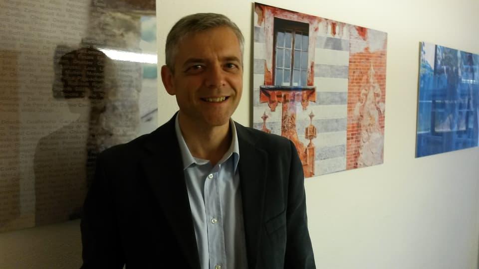 Franco Milani, president dalla Pro Grigioni Italiano.