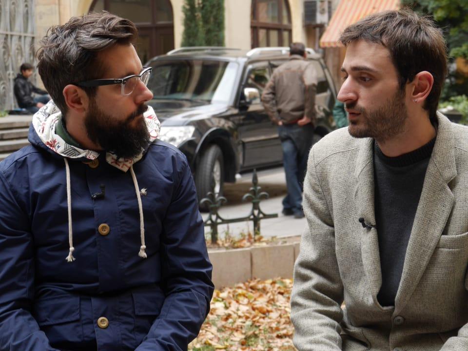 Girogi ist Student, Blogger und einer der wenigen geouteted Schwulen in Tbilisi.