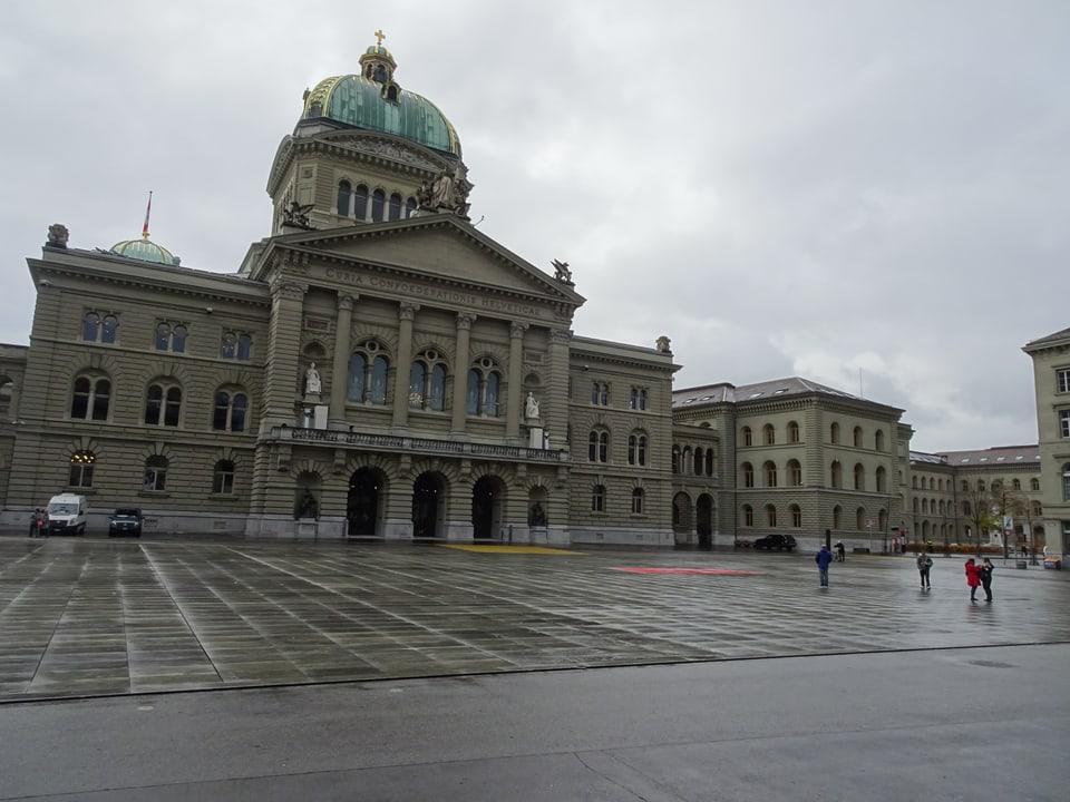 Der Bundesplatz in Bern