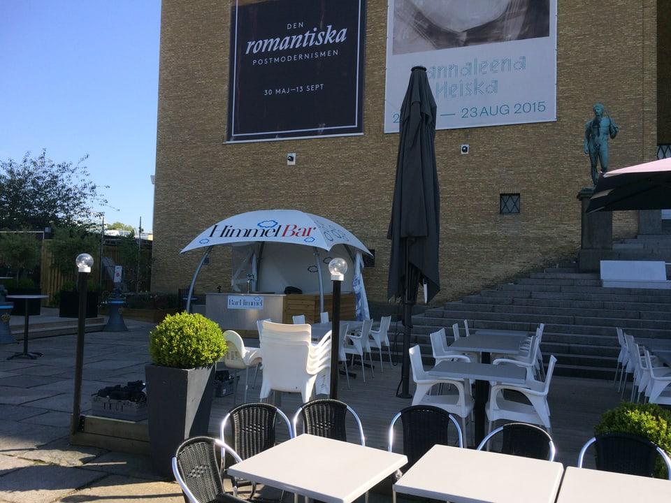 Himmel Bar – in restaurant drizzà en sin la stgala dal museum d'art a Göteborg.