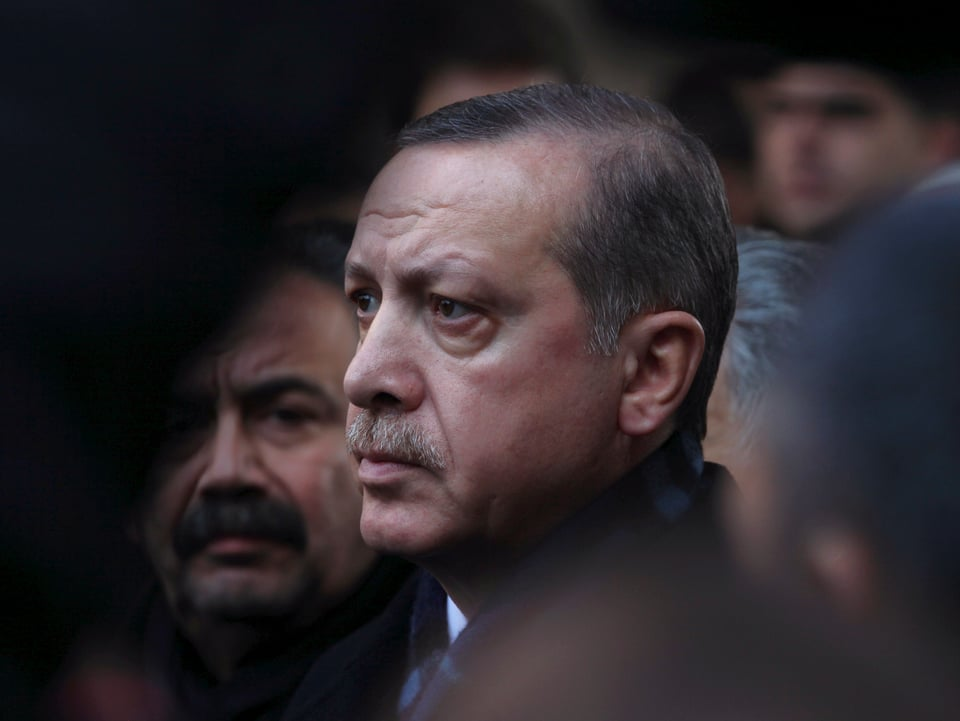 Porträt Erdogan