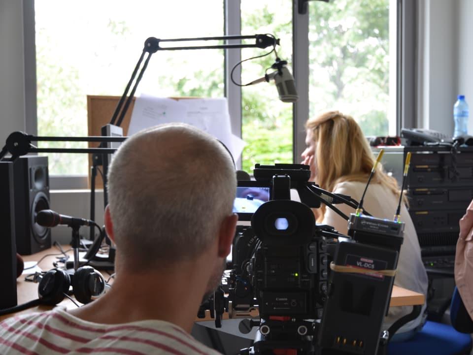 Besuch bei den Radiokollegen in Sofia