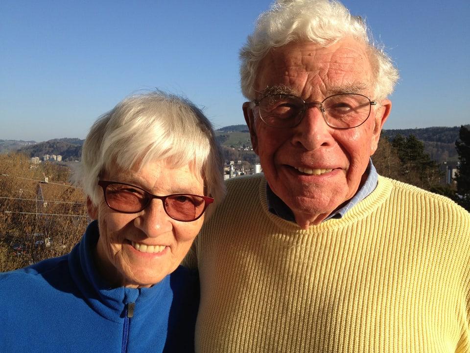 Jo und Walter Munz.