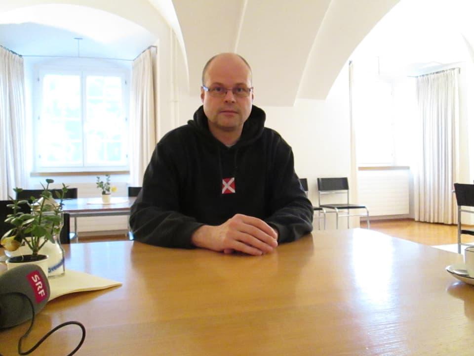 Statthalter des Kloster: Bruder Niklaus