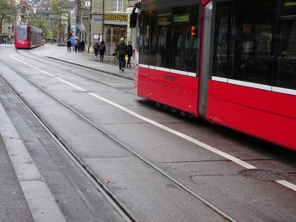 Trams in Bern