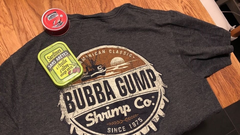 T-Shirt der Bubba Gump Shrimp Co.