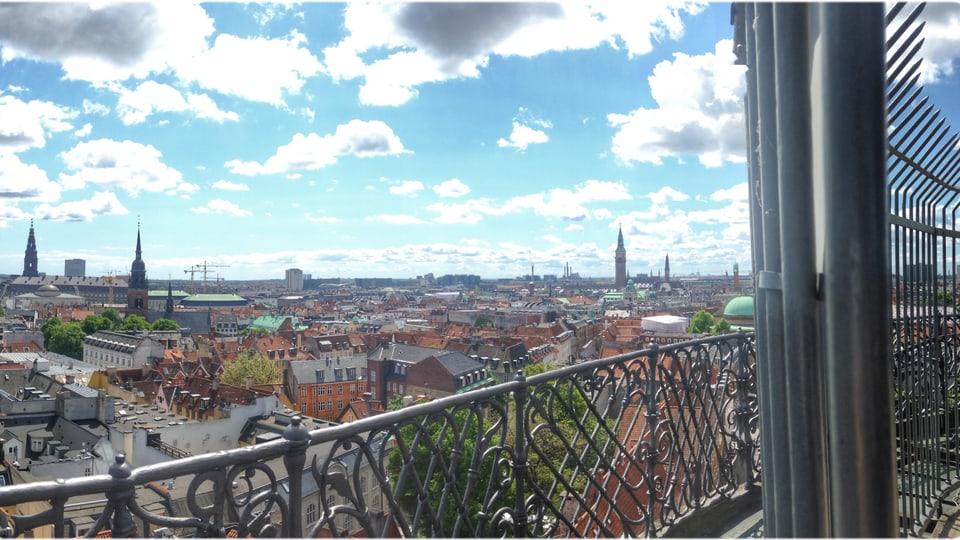 La vista davent da la Rundetårn.