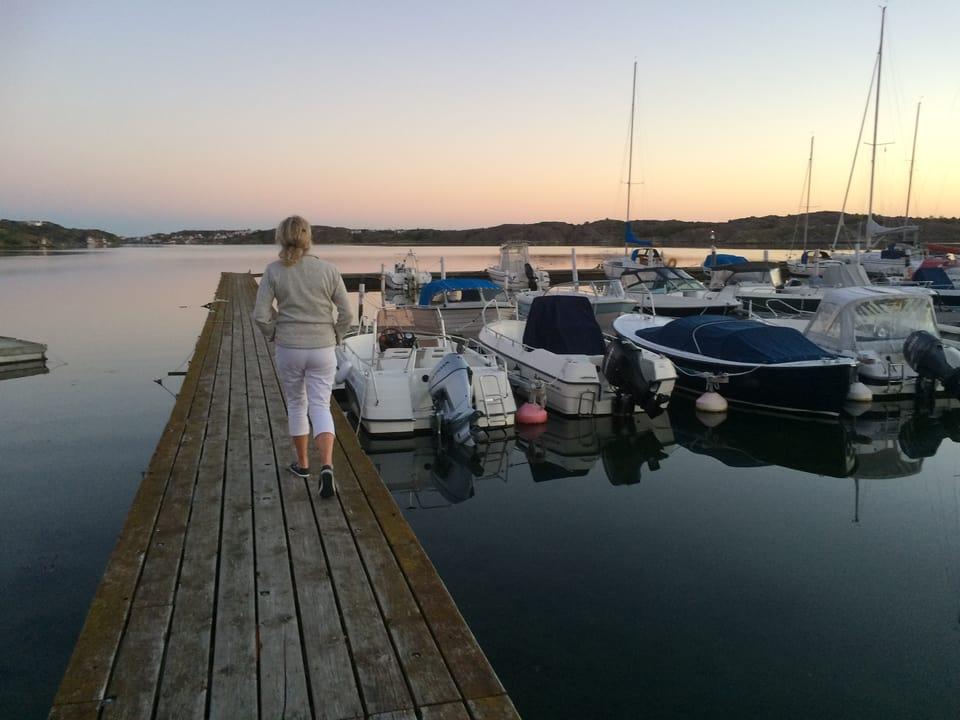 Ingela Wolf-Holmquist giauda surtut la vischinanza dal mar.