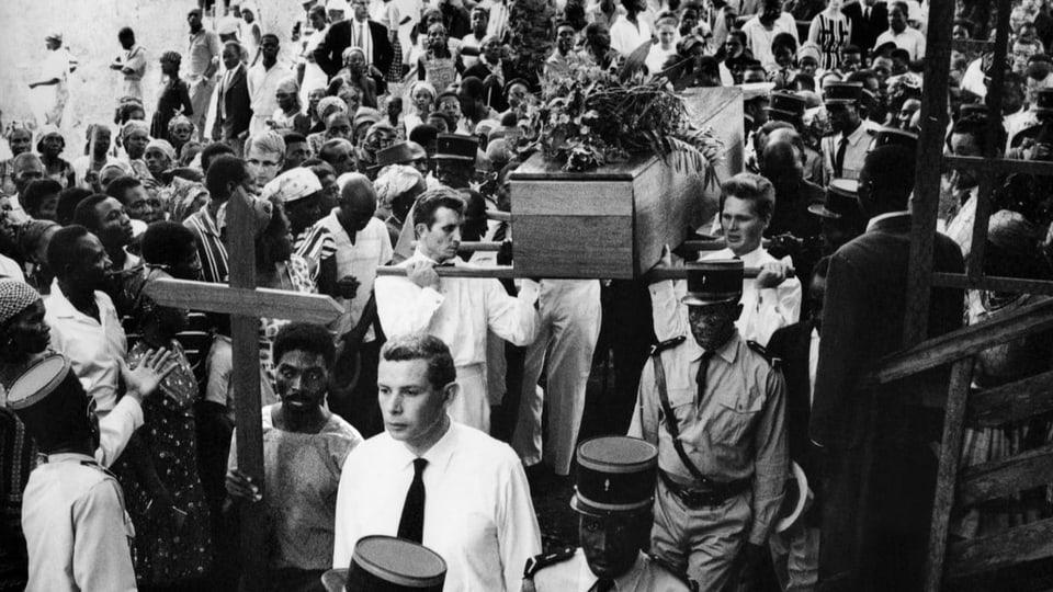 Beerdigung von Albert Schweitzer